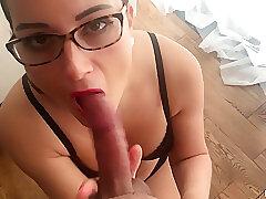 Amateur Sex, Big Cock, Cumshot, Milf, POV, cum, cock, big-tits, brunette, couple, facial, hd