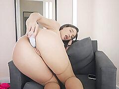 Amateur, Anal, Milf, Webcam, Big Ass, Brunette, HD, Skinny, Solo Female, Stockings