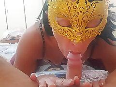 Amateur, Big Cock, Milf, POV, cock, brunette, couple, hd