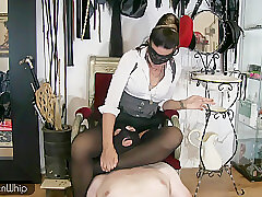 Amateur, Fetish, Milf, BDSM, Bondage, Brunette, Femdom, HD, Smoking, Stockings