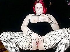 Amateur, Milf, Big Tits, HD, Red Head, Solo Female, Stockings