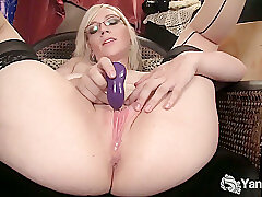 Amateur, Blondes, Milf, HD, Solo Female, Stockings, Toys
