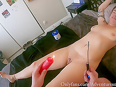 Amateur, Fetish, Milf, POV, BDSM, Brunette, Couple, HD, Tattoo