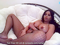Amateur, Milf, Webcam, big-ass, big-tits, brunette, hd, latina, solo-female, stockings, toys