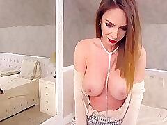 Amateur, Milf, Webcam, Big Tits, Brunette, Latina, Skinny, Solo Female, Striptease