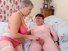 Mature, Blowjob, Fetish, Milf, BBW, Big Tits, Couple, Cunnilingus, Granny, Lingerie, Stockings