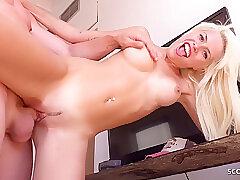 Amateur, Big Cock, Blondes, Milf, POV, Cock, Big Tits, German, HD, Skinny