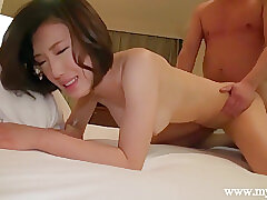 Amateur, Asian, Milf, POV, Handjob, big-tits, brunette, hd, japanese