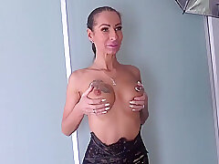 Amateur, Milf, big-tits, casting, hd, skinny, stockings, tattoo