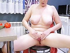 Amateur, Milf, Big Tits, HD, Russian, Solo Female, Toys