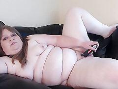 Amateur, Milf, Webcam, BBW, Big Tits, Brunette, Solo Female, Toys