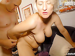 Amateur, Blonde, Milf, big-ass, big-tits, german, hd, stockings