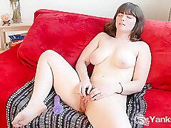 Amateur, Milf, big-tits, brunette, hd, hairy, solo-female, toys