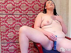 Amateur, Milf, bbw, big-ass, brunette, hd, solo-female, toys