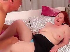 Amateur, Big Cock, Milf, cock, big-ass, big-tits, cunnilingus, deepthroat, hd, hairy, red-head, tattoo