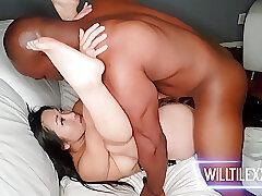 Amateur, Asian, Big Cock, Milf, Cock, Big Tits, Brunette, HD, Hairy, Interracial
