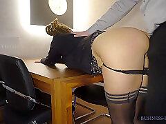 Amateur, Milf, Big Ass, HD, Secretary, Stockings