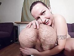 Amateur, Big Cock, Fetish, Milf, Rimming, Handjob, Cock, Brunette, HD, Muscular Man