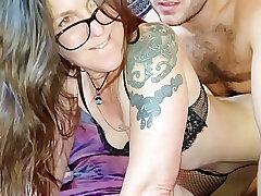 Sweetelle420 Gets Say no to Glasses Trancelike Hard by Luke London