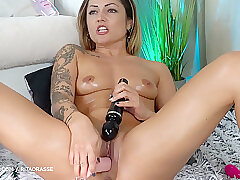 Amateur, Milf, Small Tits, Webcam, Brunette, HD, Shaved, Solo Female, Tattoo, Toys