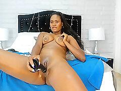 Amateur, Milf, Webcam, big-tits, brunette, colombian, latina, solo-female, squirt, toys