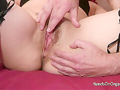 Amateur, Masturbation, Milf, British, Casting, Close-up, Female Orgasm, Fingering, Hairy, Lingerie