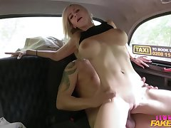 Big Cock, Blondes, Milf, Cock, Big Tits, Car, Deepthroat, HD, Tattoo