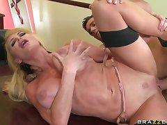Big Cock, Blondes, Milf, Cock, Big Tits, HD, Stockings
