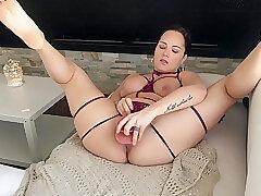 Amateur, Milf, Big Tits, Female Orgasm, French, HD, Solo Female, Toys