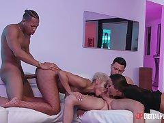 Big Cock, Blondes, Milf, Group Sex, Handjob, Cock, Sex, American, Big Tits, Brunette, Cunnilingus, Deepthroat, HD, Interracial, Stockings
