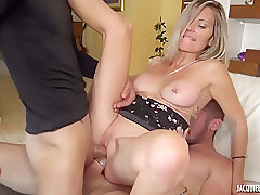 Amateur, Anal, Blondes, Double Penetration, Milf, Threesome, Big Tits, French, HD, Tattoo