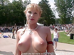 Amateur, Blondes, Milf, Big Tits, Brunette, HD, Outdoor, Public, Tattoo
