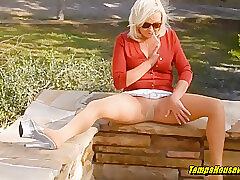 Hardcore, Blondes, Blowjob, Cumshot, Masturbation, Milf, POV, Cum, Doggystyle, Female Orgasm, Outdoor