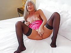 Amateur, Mature, Milf, Granny, Stockings
