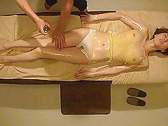 Asian, Dildo, Brunette, HD, Japanese, Massage