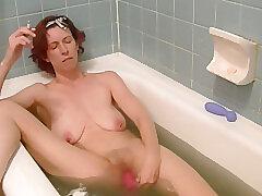 Amateur, Milf, Webcam, HD, Red Head, Smoking, Solo Female, Toys