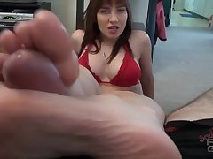 Big Cock, Cumshot, Fetish, Milf, POV, Cum, Cock, Big Tits, Brunette, Foot Fetish, Footjob, HD, Solo Female