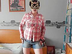 Amateur, Milf, Webcam, Big Ass, Big Tits, European, Lingerie, Solo Female, Striptease