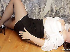 Teen English Omnibus Complexion Fianc� Coupled with Deepthroat Primarily Writing-desk