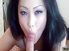 Amateur, Asian, Big Cock, Cumshot, Milf, POV, Cum, Cock, Big Tits, Brunette, Creampie, Deepthroat, HD, Lingerie, Stockings
