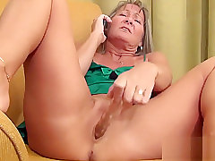 Milf Has Ring for Coition N Masturbates