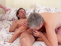 Mature, Blowjob, Fetish, Milf, Threesome, Big Tits, Cunnilingus, Granny, Lesbian, Lingerie, Stockings, Toys
