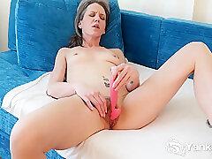 Amateur, Milf, Small Tits, Webcam, Brunette, Hairy, Solo Female, Toys
