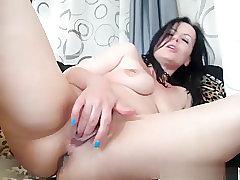 Anal, Masturbation, Milf, Webcam, Brunette, HD, Toys