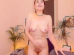 Amateur, Milf, Webcam, Big Tits, Brunette, Solo Female, Stockings, Striptease