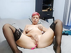 Amateur, Milf, Webcam, HD, Russian, Solo Female, Stockings