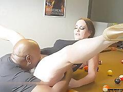 Amateur, Milf, Big Tits, Brunette, HD, Interracial