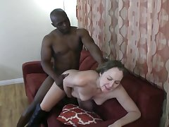 Amateur, Hardcore, Big Cock, Milf, Small Tits, Cock, Brunette, HD, Interracial