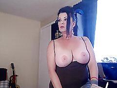 Amateur, Milf, Webcam, Big Tits, Brunette, HD, Smoking, Solo Female