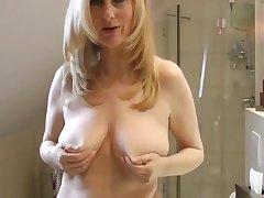 Blondes, Milf, POV, Big Tits, Creampie, German, Stockings